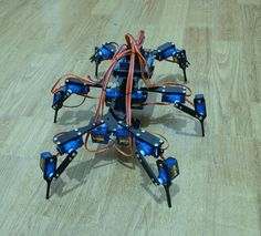"Six Feet Robot 6 Legged Hexapod Mini ""Spider"" Arduino DIY Robot Kit"