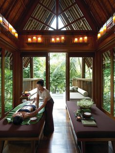 Relaxing massage for the two of you at #TheSpa #FSKohSamui