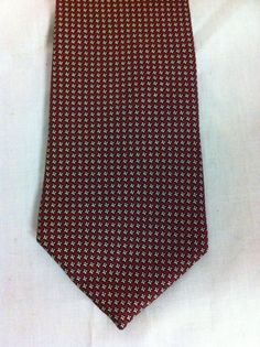 Tommy Hilfiger Neck Tie 100% Imported Silk Red White Black WPL 2831 #TommyHilfiger #NeckTie