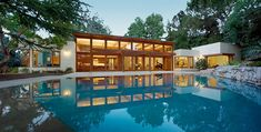 modern architecture at Belair residence by Studio William Hefner- Image by david lena