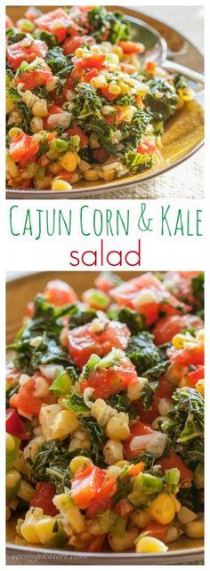 Cajun Corn & Kale Salad