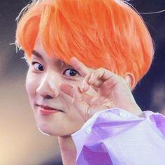 Orange Aesthetic, Kpop Aesthetic, Changmin The Boyz, Chang Min, Hair Icon, Cute Icons, My People, Kpop Boy, K Idols