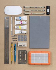 """Things organized neatly.""  Brilliant blog."