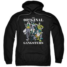 DC/ORIGINAL GANGSTERS-ADULT PULL-OVER HOODIE-BLACK