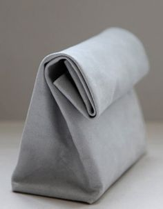 Grey bag.