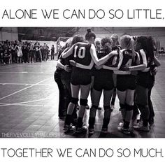 """""""Alone we can do so little. Together we can do so much"""" #Teamwork #MotivationalMonday"""