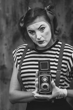 Mime Makeup, Costume Ideas, Goth, Gothic, Goth Subculture