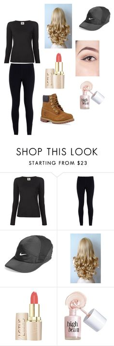 """Loren Beech Inspired"" by emmasartorius on Polyvore featuring 321, NIKE, Benefit and Timberland"