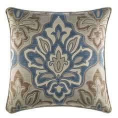 Croscill Home Fashions Captain's Quarters Throw Pillow
