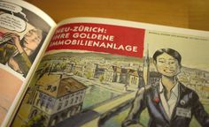 """What's the point of rebuilding an entire Swiss city in China? This is the premise of """"Die kopierte Stadt"""" by Matthias Gnehm, a Swiss architect turned. Switzerland, Baseball Cards, City, Books, Livros, Libros, Book, City Drawing, Book Illustrations"""