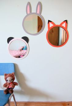 Kid's Mirrors | Upgrade your children's bedroom decoration with these beautiful mirrors. Find more at CIRCU.NET
