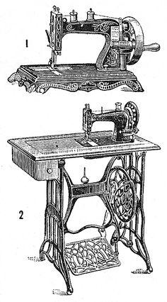 Vintage Sewing Machines ~ Álbum de imágenes para la inspiración (pág. 103) | Aprender manualidades es facilisimo.com