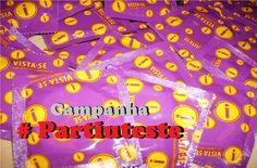 Governo lança campanha #partiuteste