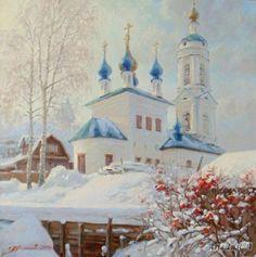 Варвара в зимнем наряде - Плотников Александр
