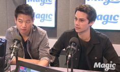 Maze Runner: The Scorch Trials stars Dylan O'Brien and Ki Hong Lee