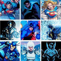 DC Heroes Blue