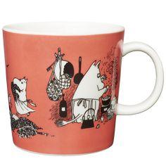 Moomin Mugs from Arabia – A Complete Overview Tove Jansson, Moomin Mugs, Marimekko, Troll, Illustration Art, Illustrations, Art Deco, Tableware, Mumi