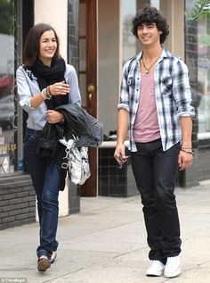 Rekindled romance: Joe and Camilla first met when the Brazilian filmed a…