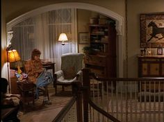 This house was in Stepmom AND The Bounty Hunter! And its for sale! Take a look....This upstairs nook is so cute!