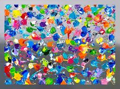 hugo landry oeuvre Art Gallery, House Painting, Sprinkles, Artwork, Abstract, Artist, Toile, Paint, Color