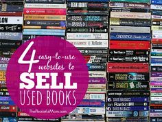 Make Money: Sell Your Books Need some extra cash? Here 4 easy-to-use sites where you can sell your books online and some even take dvds and cds as well. -- from ThePeacefulMom.com