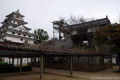 Japanese castles I've visited: #41 Karatsu Castle in Saga Prefecture. It was partly under construction when I visited in December 2012.