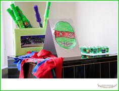 Ninja turtles Geburtstagsparty mit tollen Spielideen und Partyspielen für den Kindergeburtstag, Geschenke, Speisen, Buffett und Deko ** by www.missmommypenny.de ** awesome game ideas and party ideas for ninja turtle birthday party. games, gifts, food and decoration