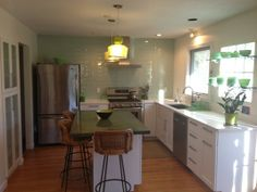 Kitchen Renovation, Florence, MA. Stephen Ross, General Contractor.