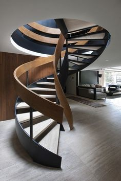 pinterest.com/fra411 #Stairs at Casa Lomas II, Mexico by Paola Calzada Arquitectos