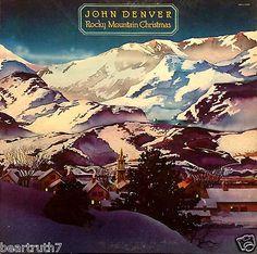 "JOHN DENVER **Rocky Mountain Christmas** 12"" LP ORIG 1975 RCA AFL-1201 VG+/VG++"