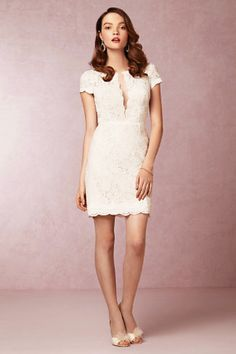 If long wedding dresses aren't for you, here are 6 chic alternatives