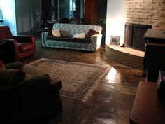 How To: Stain Concrete Floors