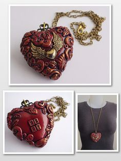 a hollow heart by rockybeads, via Flickr