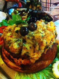Açorda de Bacalhau @ Telheiro restaurant, Aveiro