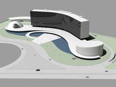 Braço direito de Oscar Niemeyer, o arquiteto Jair Valera diz que a incrível vontade de trabalhar do mestre também pode ser traduzida pelos projetos com a assinatura dele que só serão concretizados futuramente, tanto no Brasil quanto no exterior, dando um caráter ainda mais transcendental à sua obra.  Foto: Biblioteca do Mundo Árabe a ser construída na Argélia.