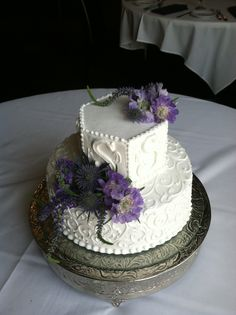 LOVE LOVE LOVE this cake! It was perfect and just plain beautiful! Petals by Design (Laura)