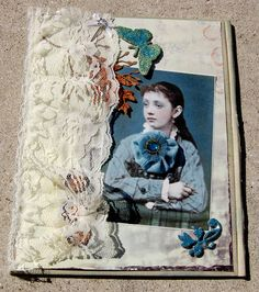 Lace curtain book cover