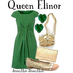 """""""Queen Elinor"""" (Brave) by disneythis-disneythat on Polyvore"""