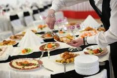 The food and beverage services industry comprises businesses that provide meals, snacks, and beverages to customers. This industry includes restaurants and mobile food services, catering, beverage serving providers and other food and beverage services. Finger Food Catering, Party Catering, Wedding Catering, Catering Ideas, Catering Buffet, Catering Events, Triple Sec, Pesto, Fresca Drinks