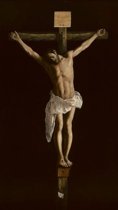Francisco de Zurbarán - Christ on the Cross - 1627