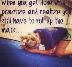 Cheerleading :) For all you high school cheerleaders, this is why I LOVE all star! Haha and a bunch of other Cheer Qoutes, Cheerleading Quotes, Gymnastics Quotes, Olympic Gymnastics, Olympic Games, Gymnastics Funny, Gymnastics Problems, Cheerleading Stunting, Gymnastics Stuff