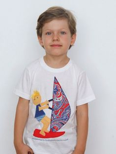 #camiseta #personalizada #diseño #muñeco #windsurf