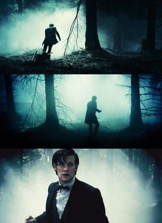 I was all worried about how the Doctor would be if he was afraid, but he was literally afraid for a few seconds and then himself again. :) Another reason Eleven rocks...