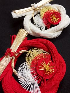 New Year ornaments 正月飾り・・・松竹梅 ㈲ながさわ結納店 #japan #mizuhiki #wedding…