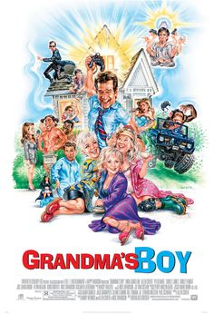Grandma's Boy , starring Allen Covert, Linda Cardellini, Shirley Jones, Peter Dante. A 35 year old video game tester has to move in with his grandma and her two old lady roommates. #Comedy