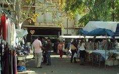 Loppmarknaden i Palma; Avenida de Gabriela Alomer i Villalong. Lördagar 8-14