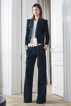 Balmain Pre-fall 2012. Leather blazer. Very necessary.