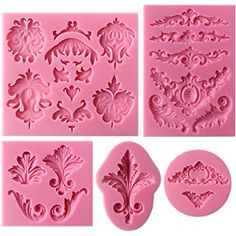 Door and Street Light Fondant Silicone Molds Polymer Clay Tools Chocolate Candy Molds