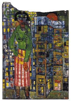 Paintings - Hundertwasser