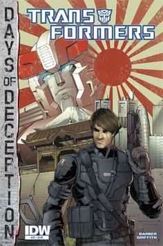 #Transformers Vol 3 #35 Cover A Regular Andrew Griffith Cover (Days Of Deception Tie-In) - Midtown Comics